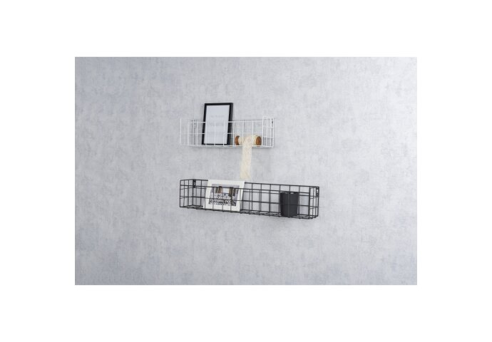 Haceka Duraline Hangmand Metaal Zwart 60x12x10 cm