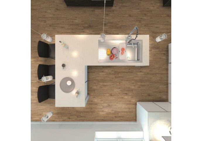 Wandtegel Visgraat EnergieKer Antiqua Rovere 15x90 cm Bruin (Doosinhoud: 0,95 m2)