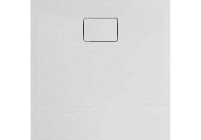 Douchebak Allibert Terreno Vierkant Inbouw Polybeton 80x80 cm Wit