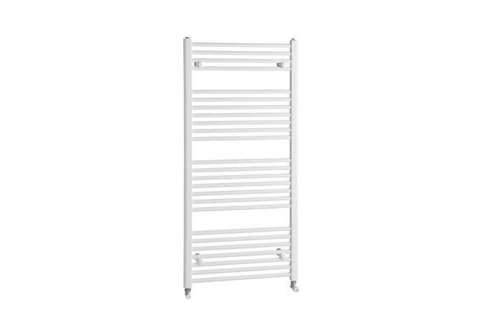 Handdoekradiator Sapho Direct Recht 45x132.2 cm 564W Wit