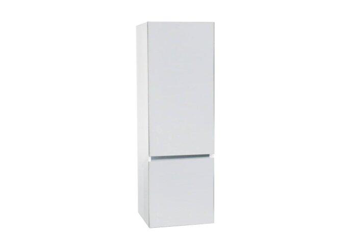 Kolomkast Isvea Twee Soft-Close deuren Greeploos 50x35x150 cm Rechts Hoogglans Wit