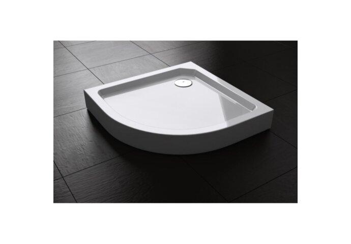 Douchebak Best Design Zol Radius 555 Opbouw 100x100x14,5cm | Tegeldepot.nl