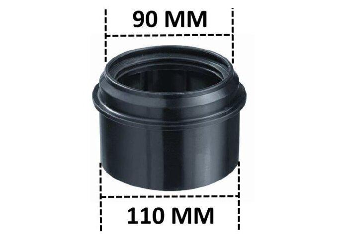 Wandcloset verloopstuk 90-110mm