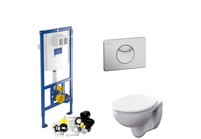 Villeroy & Boch ViConnect Toiletset SET03 Geberit Econ II