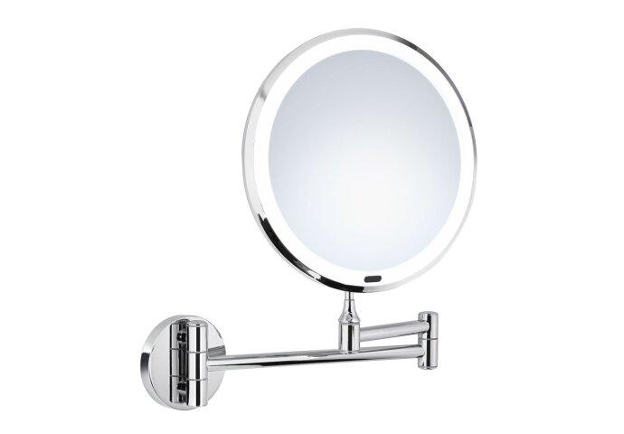 Vergrotingsspiegel Smedbo LED Wandmontage Limited Edition Chroom