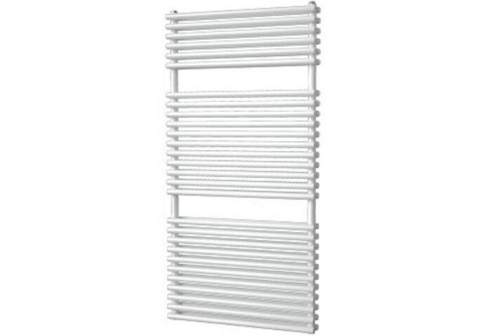 Designradiator Florion Nxt Dubbel 121,6 x 60 cm 980 Watt Zilver Metallic