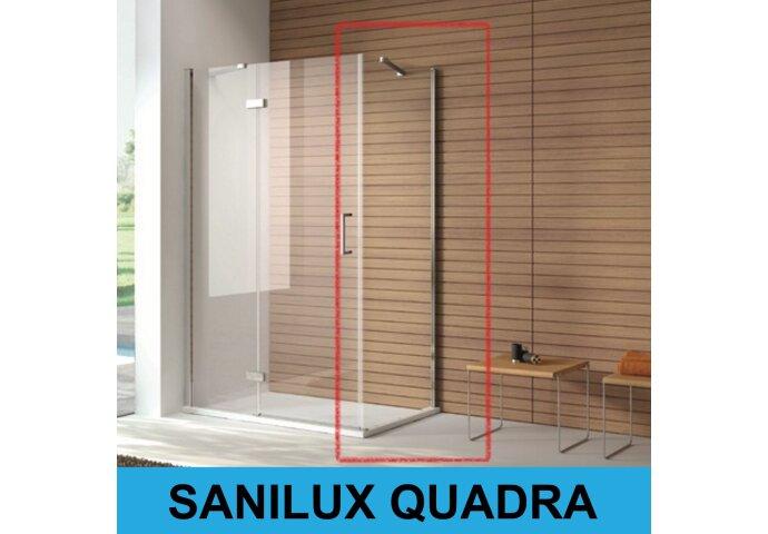 Zijwand Sanilux Quadra 8mm veiligheidglas (3 maten)