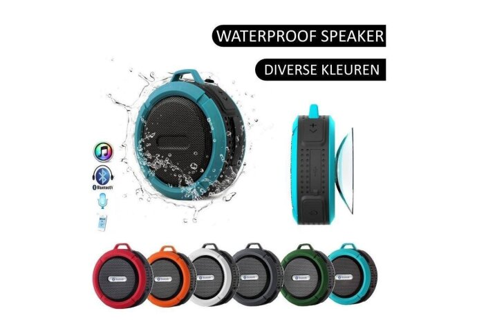 Speaker/Radio Waterbestendige Bluetooth Douche/Bad Mp3 Waterproof