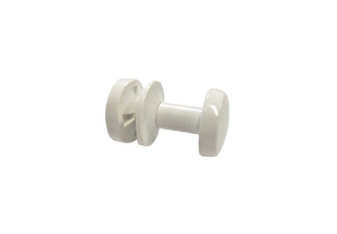 Handdoekknop voor Sanicare Radiatoren Wit
