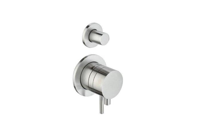Thermostaatkraan Best Design Ore Weel Inbouw 2-weg Pull & Push RVS