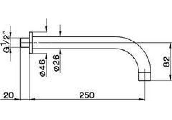 Cisal Less Baduitloop 250mm ZA001251
