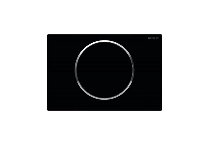 Bedieningsplaat Geberit Sigma 10 Zwart
