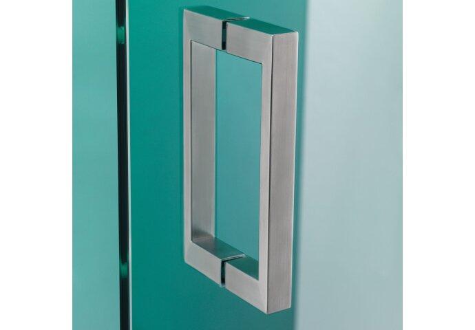 Nisdeur Get Wet by Sealskin 'I AM' 90x200 cm RVS Helder antikalk glas