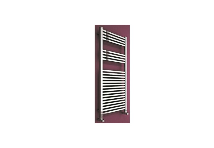 Carisa Cubic chroom handdoekradiator 142x50 cm