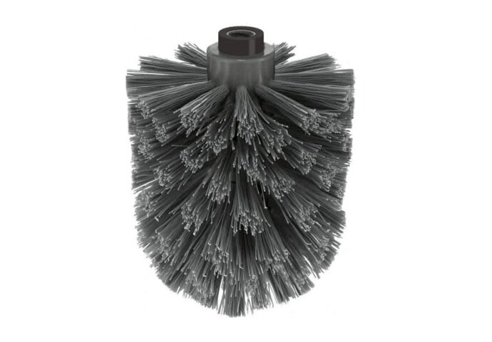 Losse Toiletborstel Zack 8,1 cm Zwart