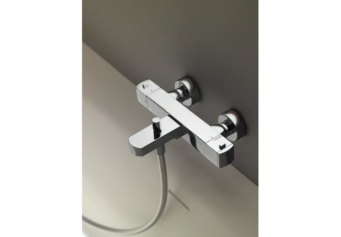 Cisal Roadster Opbouw douche thermostaat mat wit RRT010104Q