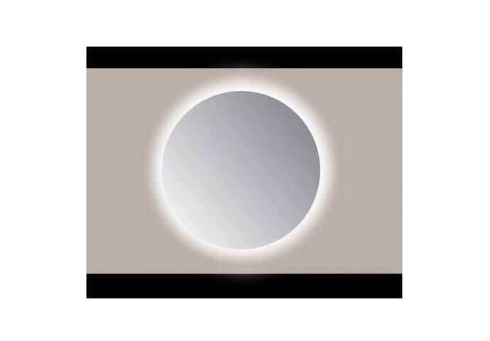 Spiegel Rond Sanicare Q Ambi Warm White LED PP Geslepen (Met Sensor) (ALLE MATEN)