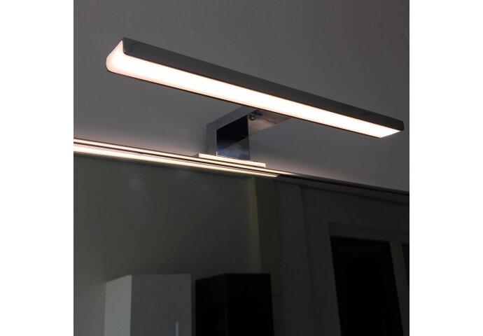 LED Spiegellamp Boss & Wessing 30cm 230V 5W 4000K Mat Zwart