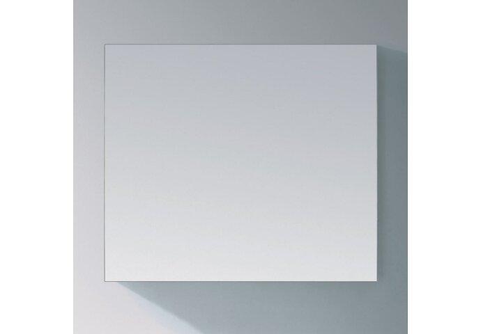 Basis Spiegel Sanitop Aluminium Geborsteld (In 9 maten)
