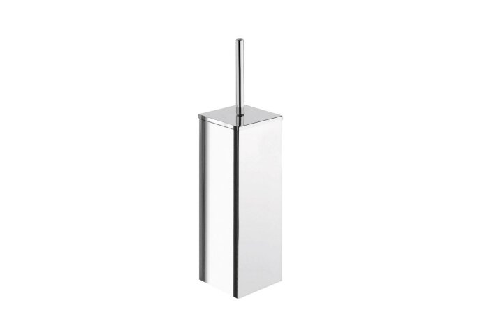 Toiletborstelhouder Sapho Colorado Vrijstaand Vierkant 36x8.8 cm Gepolijst RVS