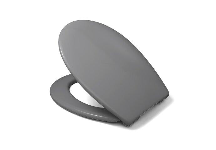 Toiletzitting Van Marcke Sana Take-off Softclose Thermoplast Grijs