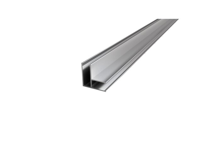 BWS Hoekprofiel 90 graden t.b.v. Glaswand 1 cm