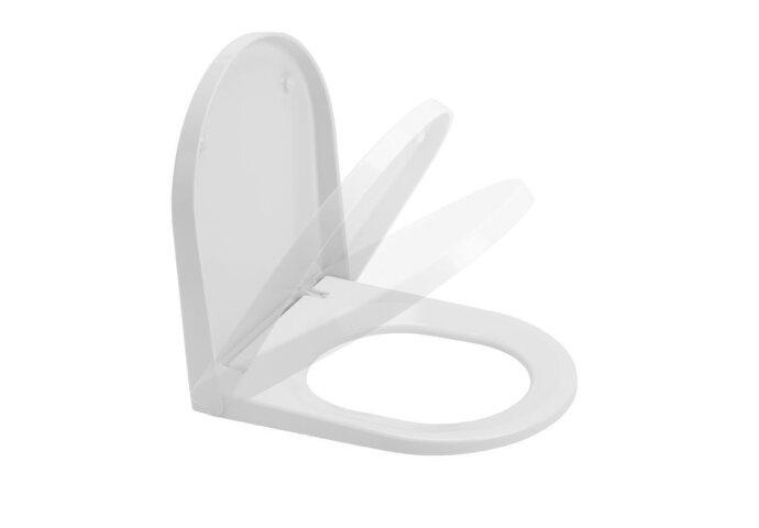 Toiletzitting Sanindusa Urb.y Softclose Clip Off met Bevestigingsmateriaal Wit