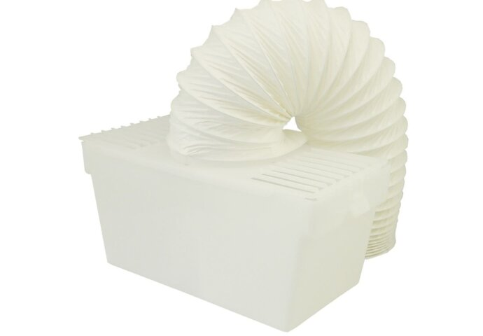 Condens-opvangbox + geintegreerde afvoerslang