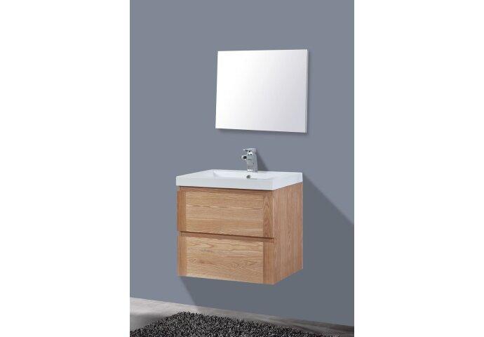 Badkamermeubelset Sanilux Trend Wood 60x47x50 cm Hout