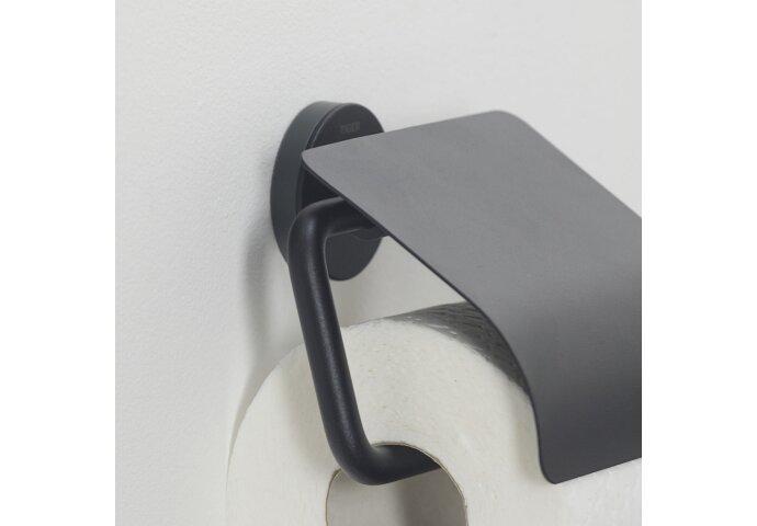 Toiletrolhouder Tiger Urban Met Klep Mat Zwart