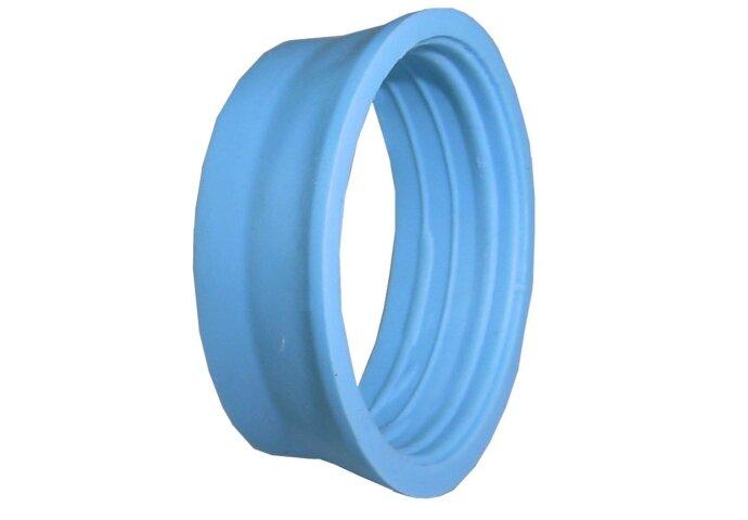 Conische knelring 40mm blauw
