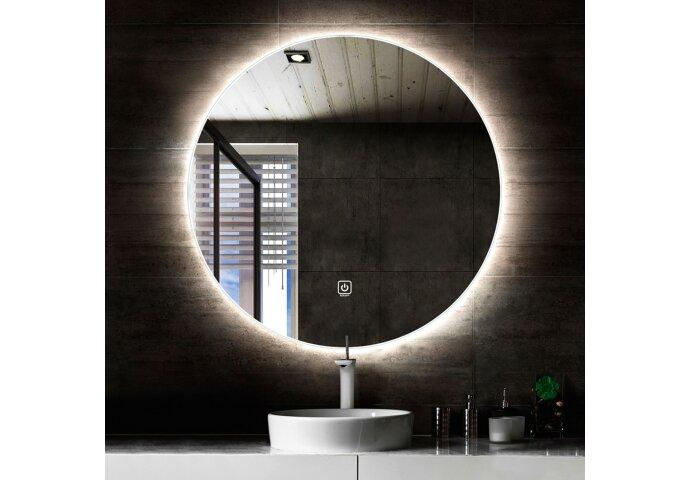 Ronde Badkamerspiegel Boss & Wessing Circle met LED Verlichting en Verwarming 120 cm