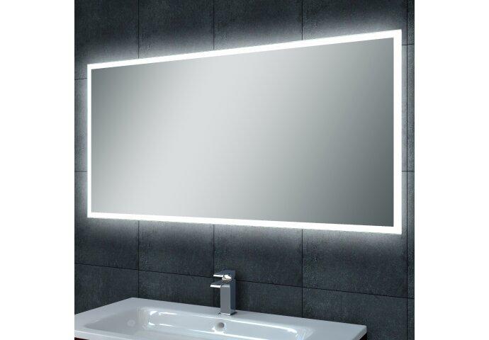Spiegel Wiesbaden Quatro Dimbare LED met Spiegelverwarming (ALLE MATEN)
