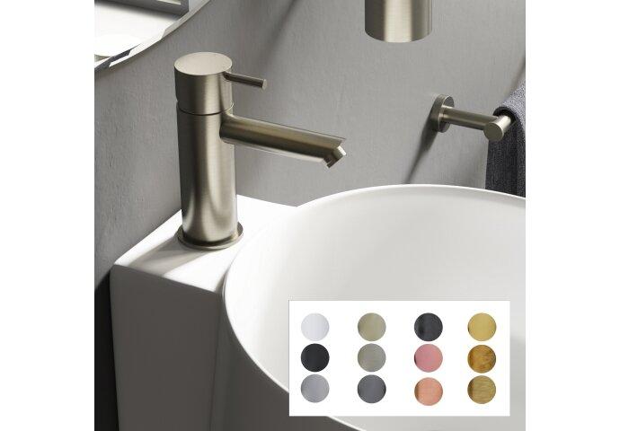 Wastafelkraan Hotbath Cobber Mengkraan Rond Zonder Waste (Verkrijgbaar in 12 kleuren)