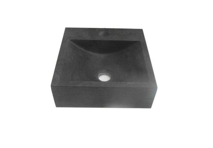 Fontein Best Design Ruti Vierkant 30x30x10 cm Blue-Limestone
