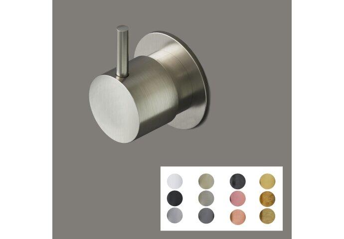 Stopkraan Hotbath Cobber 1/2 Inch Ø 4.2cm (In 12 kleuren verkrijgbaar)