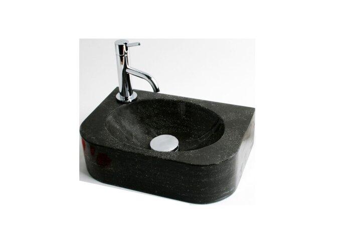 FonteinPack Flow hardsteen  35x24x10cm (Keuze uit 18 kranen)