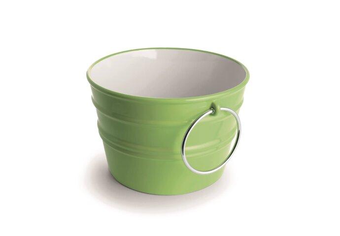 Wastafel Horganica Bacile Opbouw met Handdoek Ringen 46.5x30 cm Keramiek Groen