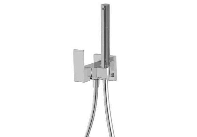 Cuadro Tres inbouw eenhendelkraan voor bidet Chroom 00612302