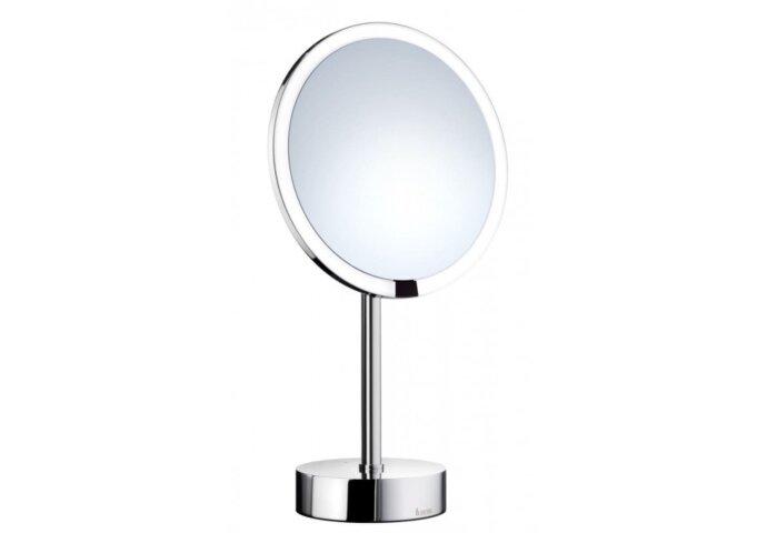 Vergrotingsspiegel Smedbo Outline met LED PMMA inclusief Sensor Chroom