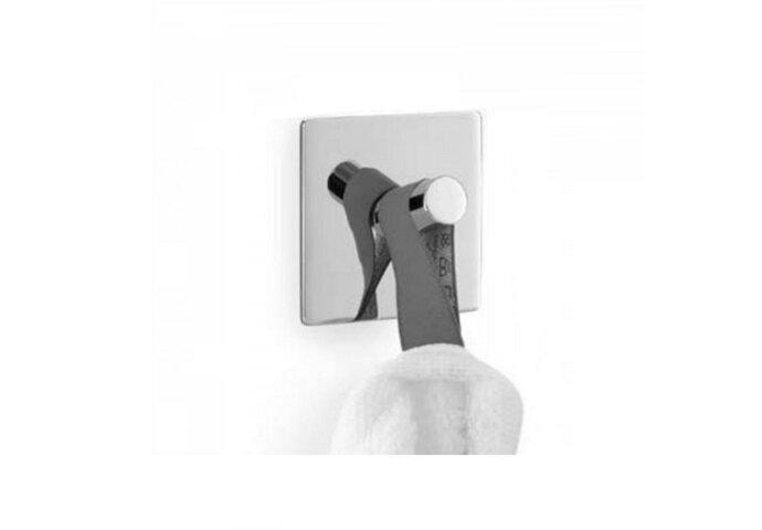 Handdoekhaak Zack Duplo Vierkant 8,5 cm Zelfklevend RVS
