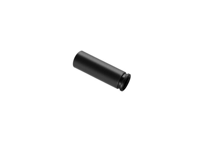 PE aansluitbuis 90/90mm geberit horizontale aansluiting (Toilet onderdelen) Lijntekening