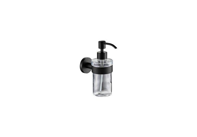 Zeeppomp Plieger Vigo Glas met Houder Mat Zwart