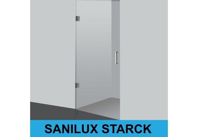 Nisdeur Sanilux Starck Profielloos 8mm veiligheidsglas (verschillende maten)