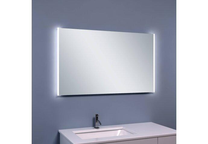 BWS Anubis Duo Condensvrije LED Spiegel 100x60 cm Aluminium