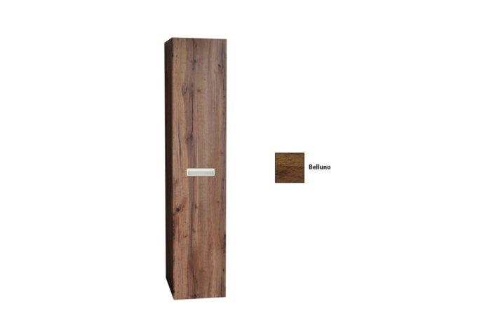 Kolomkast Sanicare Q2 Q3 Q8 Soft-Close Deur Inliggende Alu Greep 160x33,5x32 cm Belluno