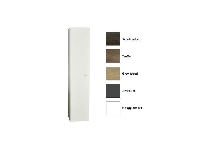 Kolomkast Sanicare Q5 1 Soft-Close Deur 160 cm Schots-Eiken