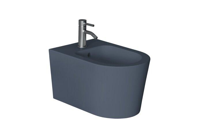 Bidet Salenzi Form Square Mat Donkerblauw (exclusief kraan)