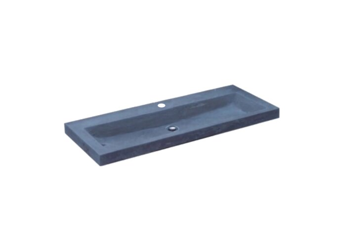 Wasblad Sanilux Compact Pro Hardsteen 100x38x5cm 1 kraangat