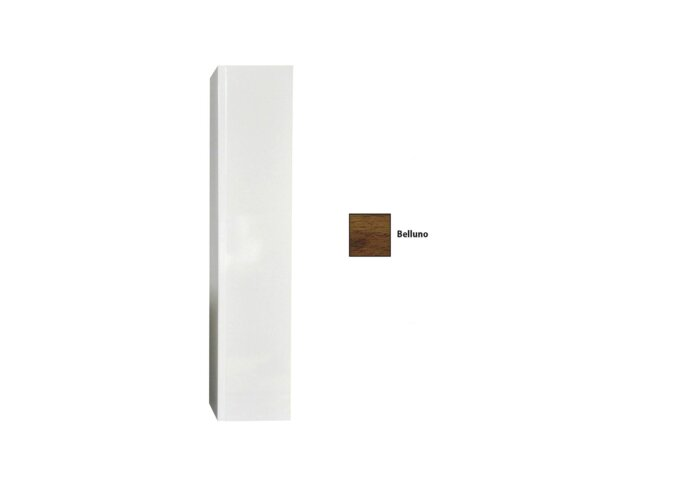 Kolomkast Sanicare 1 Soft-Closing Deur Greeploos 160x33,5x32 cm Belluno